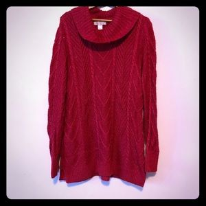 Christopher & Banks Sweaters - ❤️ Christopher and banks red sparkly sweater